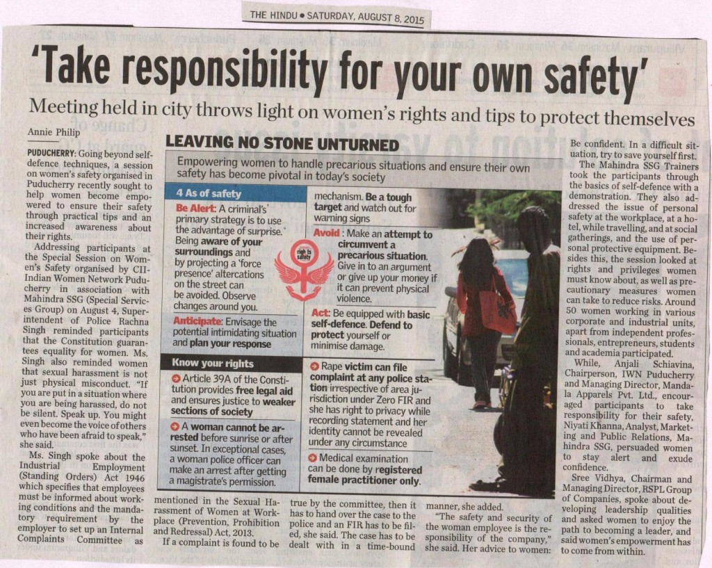 THE HINDU_Women Safety