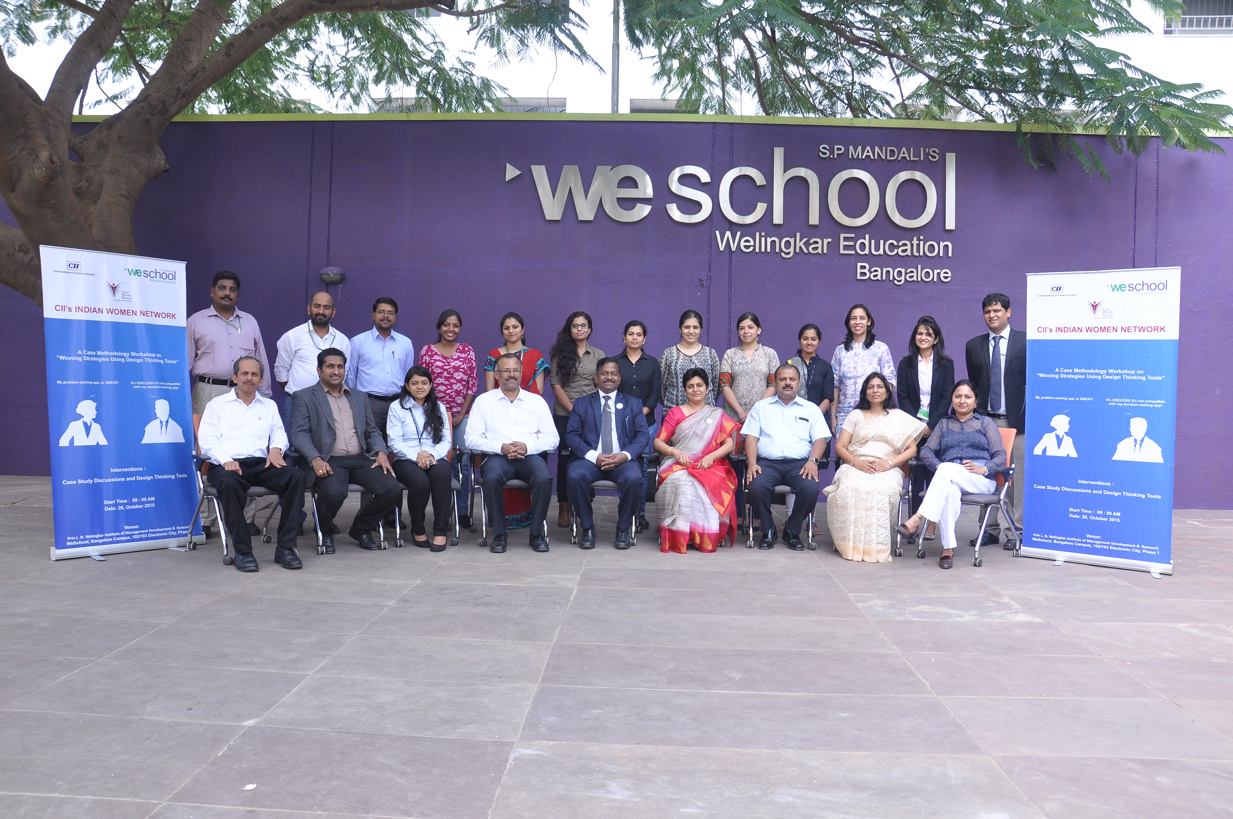"""A Case Methodology Workshop on  """"Winning Strategies Using Design Thinking Tools"""" at 10Am;20th October 2015:WeSchool Campus"""