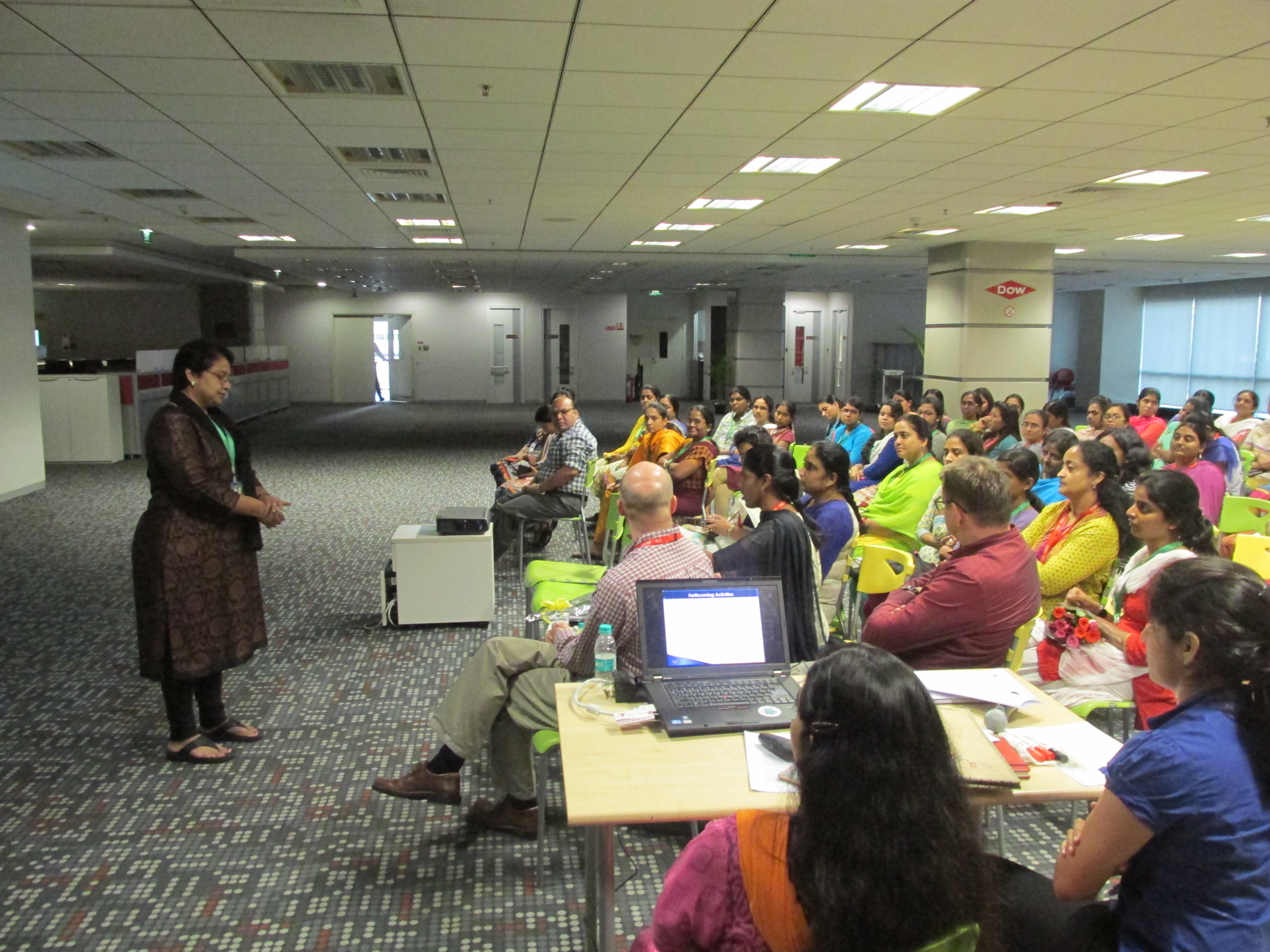 Roadshow at Dow Chemicals