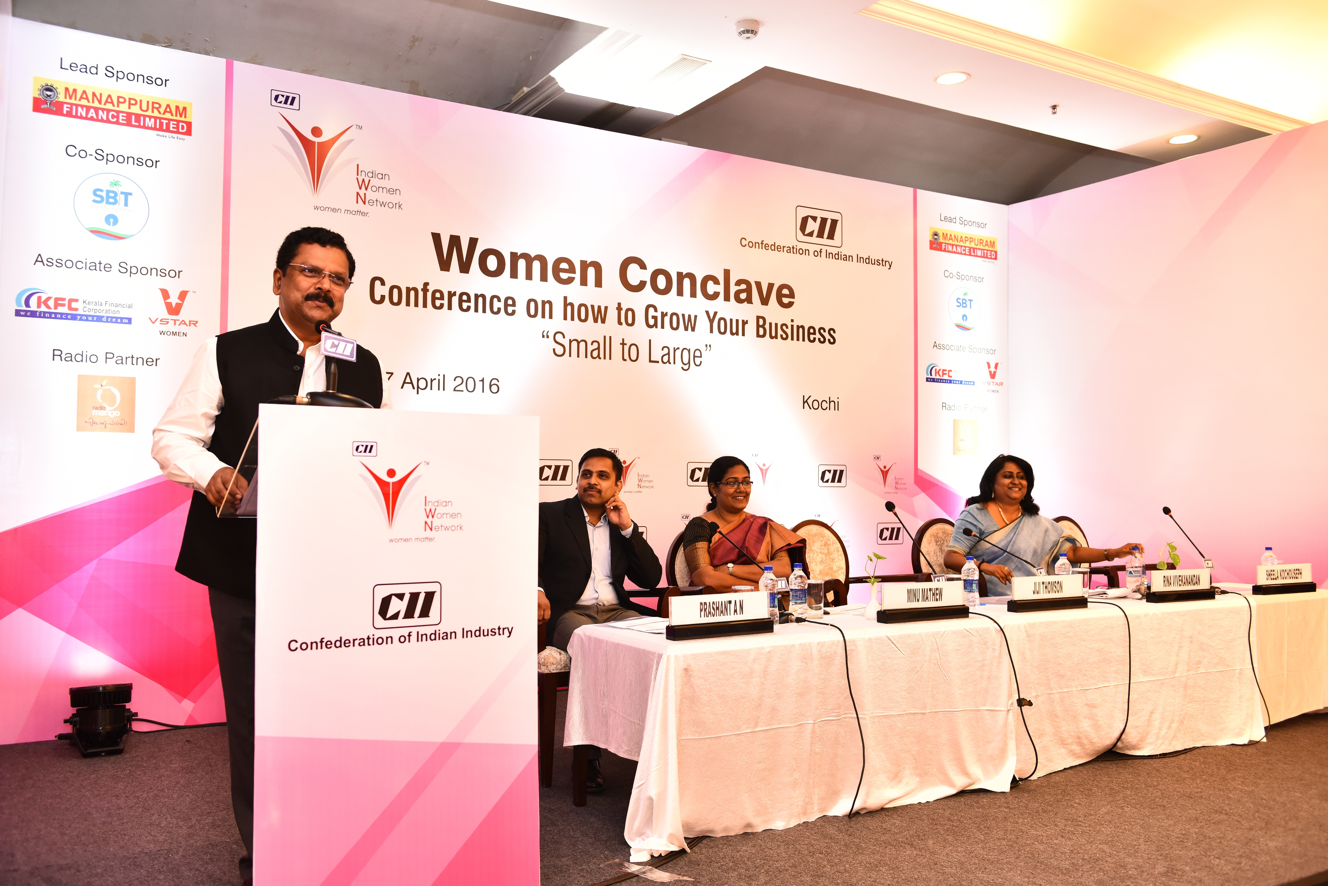 "Women Conclave- ""Small to Large""- Conference on how to grow your business"