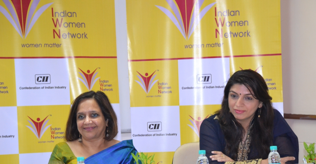 CII IWN '100 Hours of Change' mentoring session