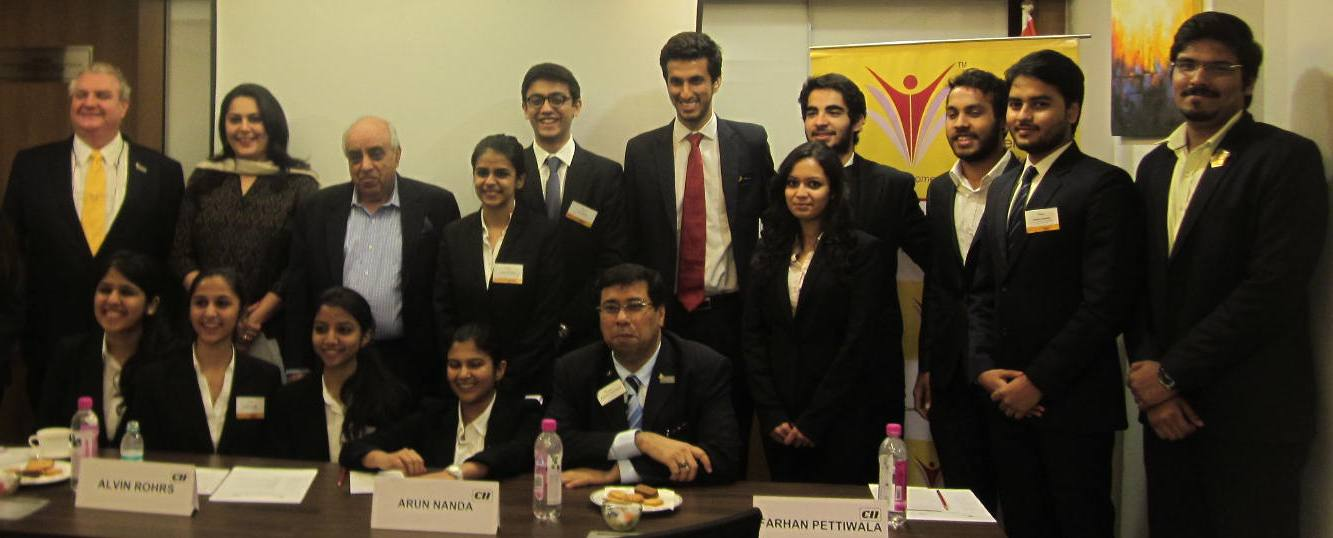 CII IWN Interaction with Dr Alvin Rohrs, President, Enactus