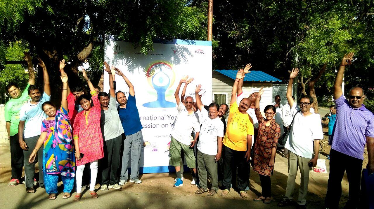 """IWN Session on """" Celebrating International Yoga Day"""""""