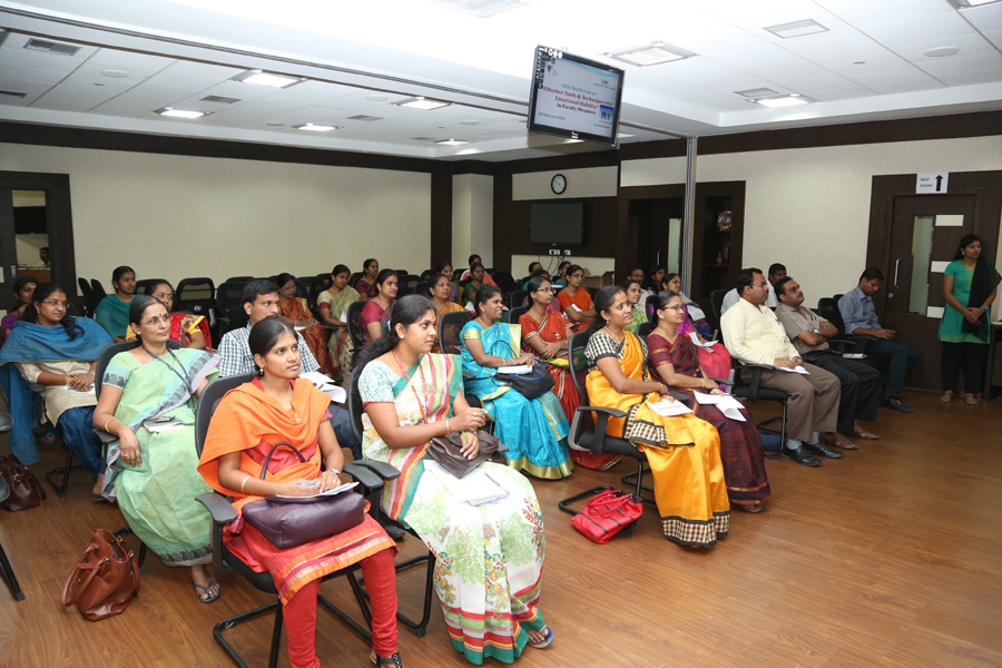 Workshop on Effective Tools & Techniques for Emotional Stability in Faculty Members
