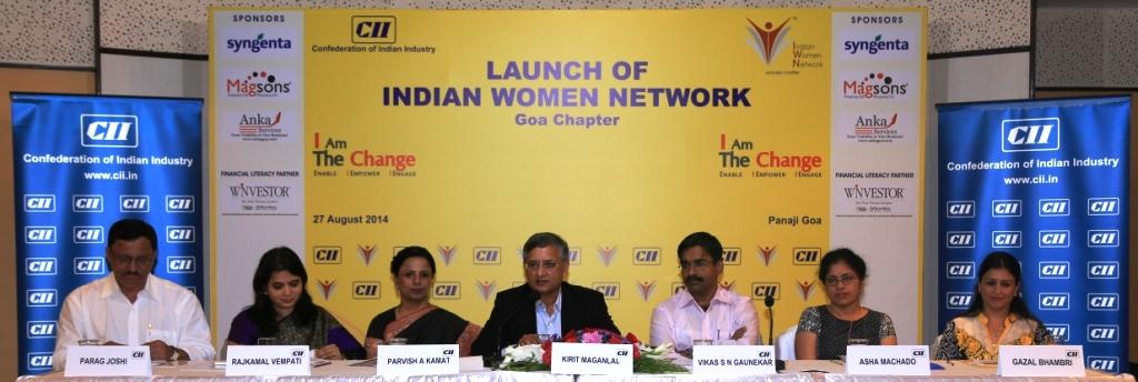 CII IWN Goa Chapter Launch - 'I Am The Change'
