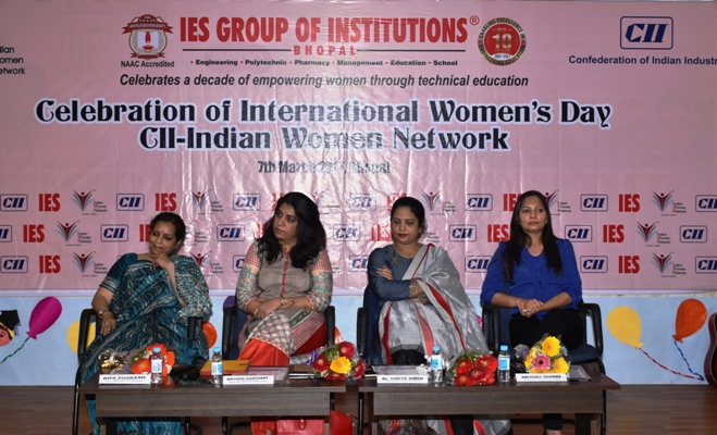 "CII - IWN Madhya Pradesh - International Women's Day Celebration - ""Women Leading Change"""