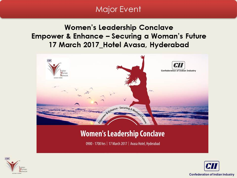 """Women's Leadership Conclave: Empower & Enhance - Securing a Woman's Future"""