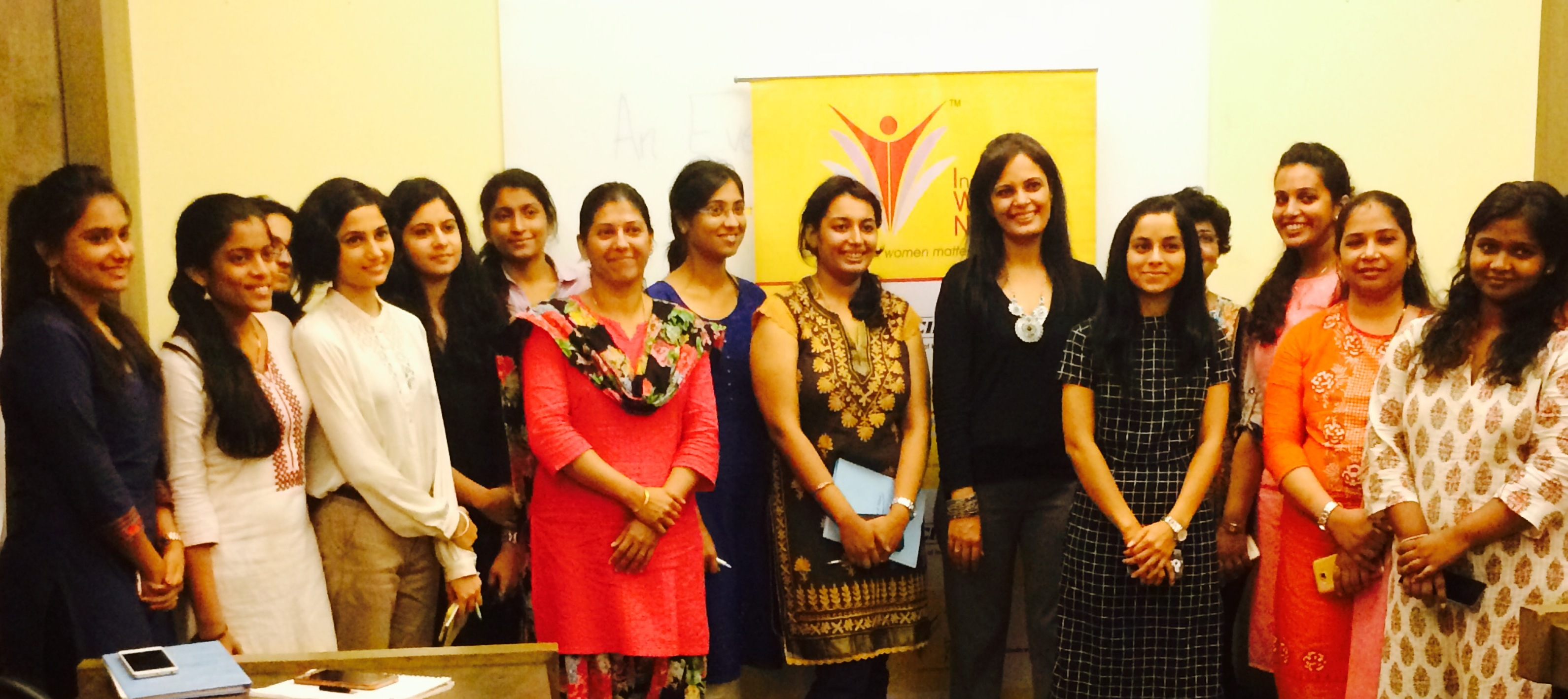 CII WR Indian Women Network Maharashtra Chapter 100 Hours of Change Mentoring Session