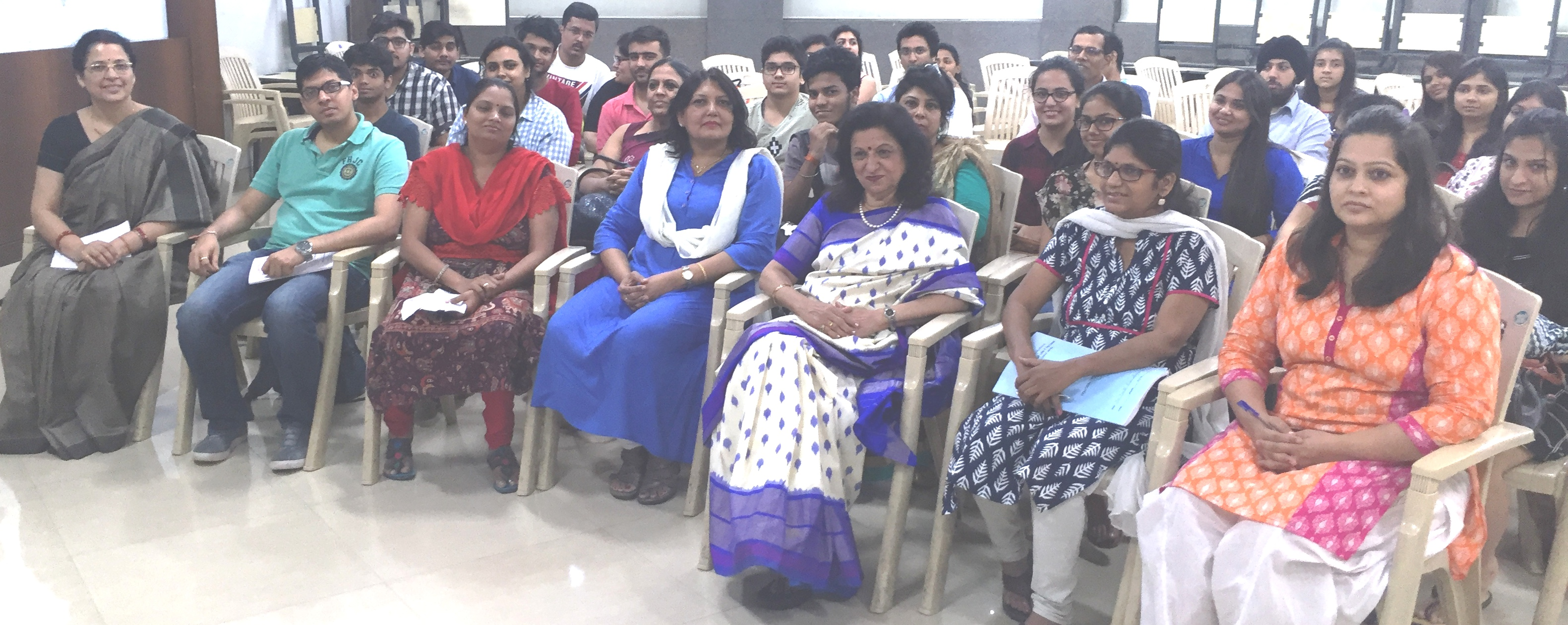 "CII IWN Maharashtra Chapter Session on ""Discover your Inner Self"""