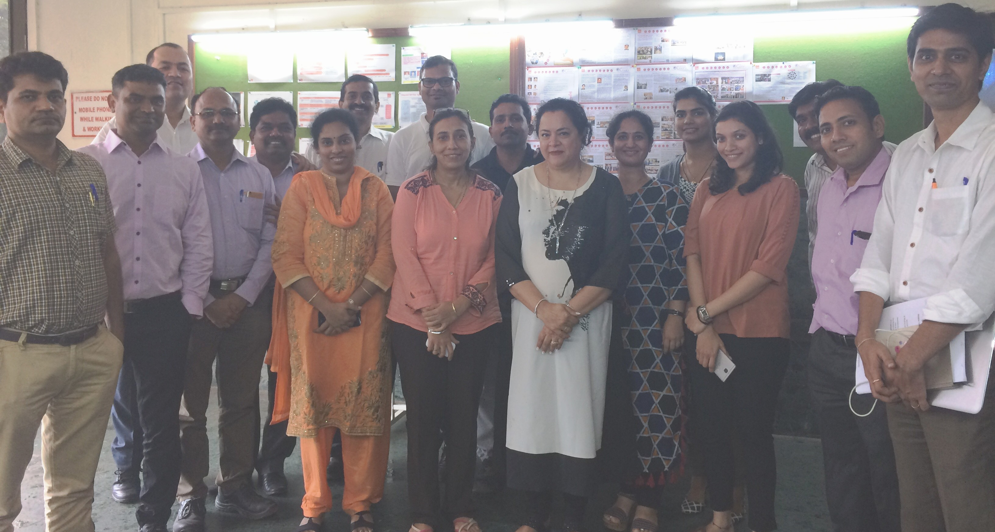 """CII Indian Women Network Maharashtra Chapter – Session on """"Conflict Resolution""""."""