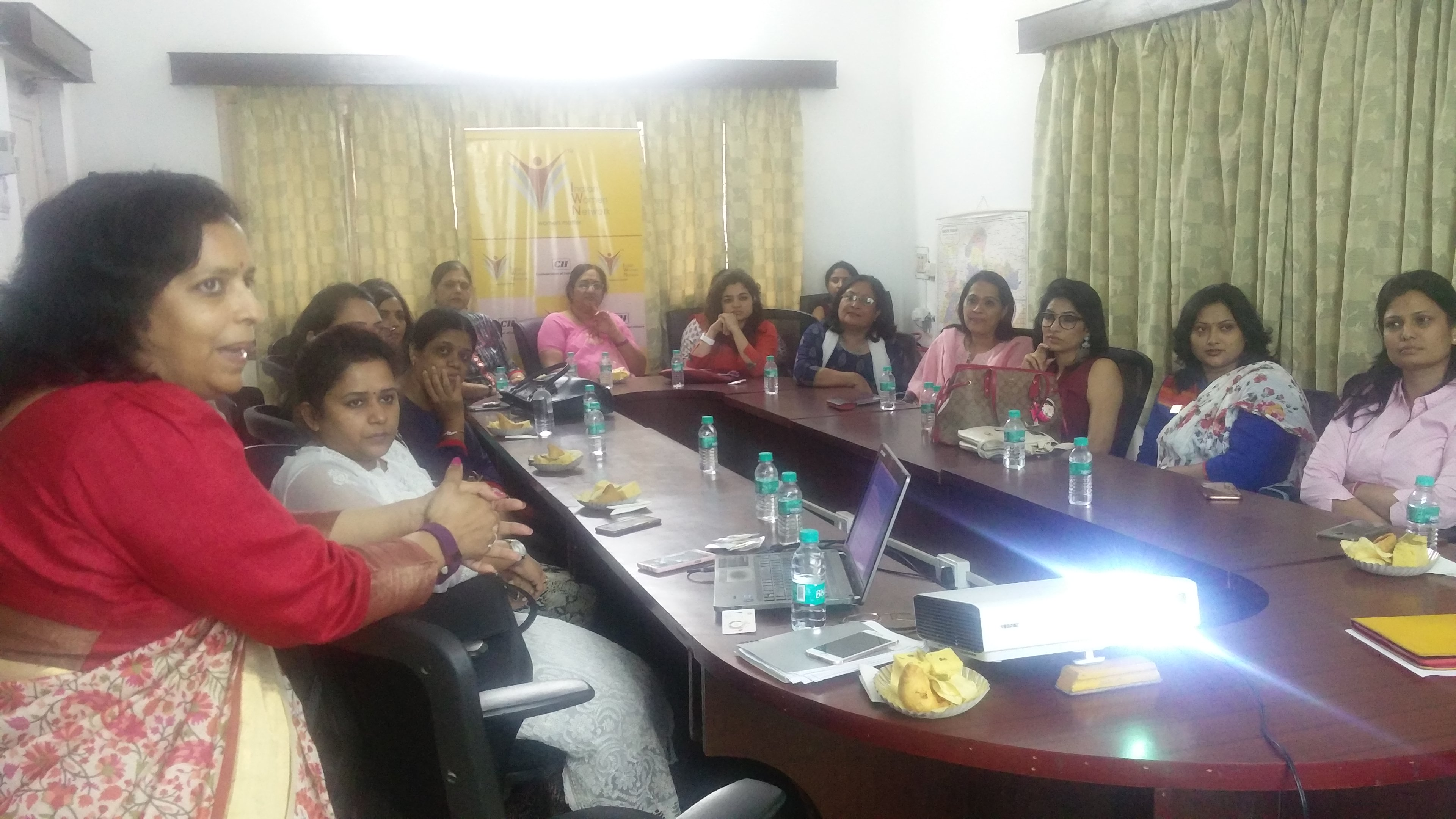 CII IWN Madhya Pradesh Chapter – Induction of New Members