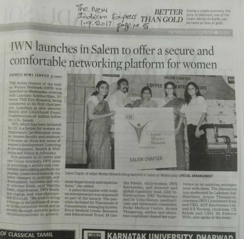 IWN Launches in Salem to offer a secure and comfortable networking platform for women