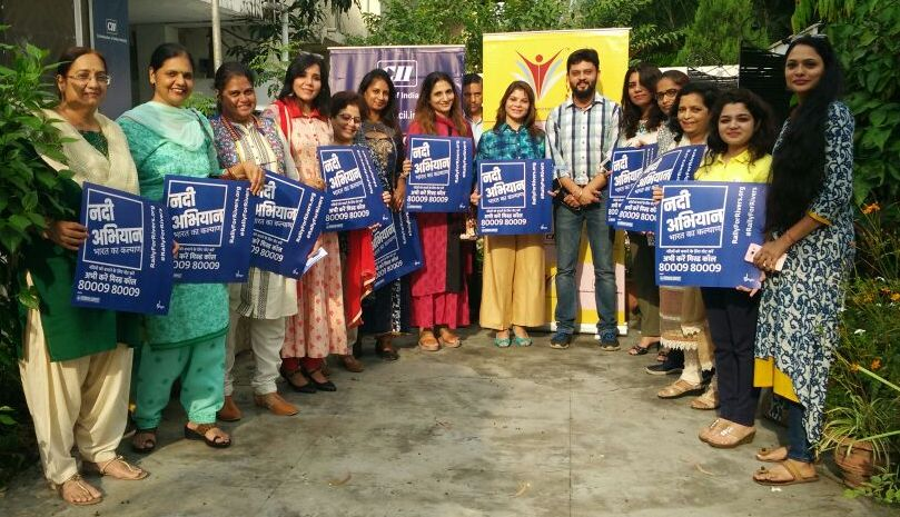CII Indian Women Network Madhya Pradesh Chapter - Support Rally for River Campaign