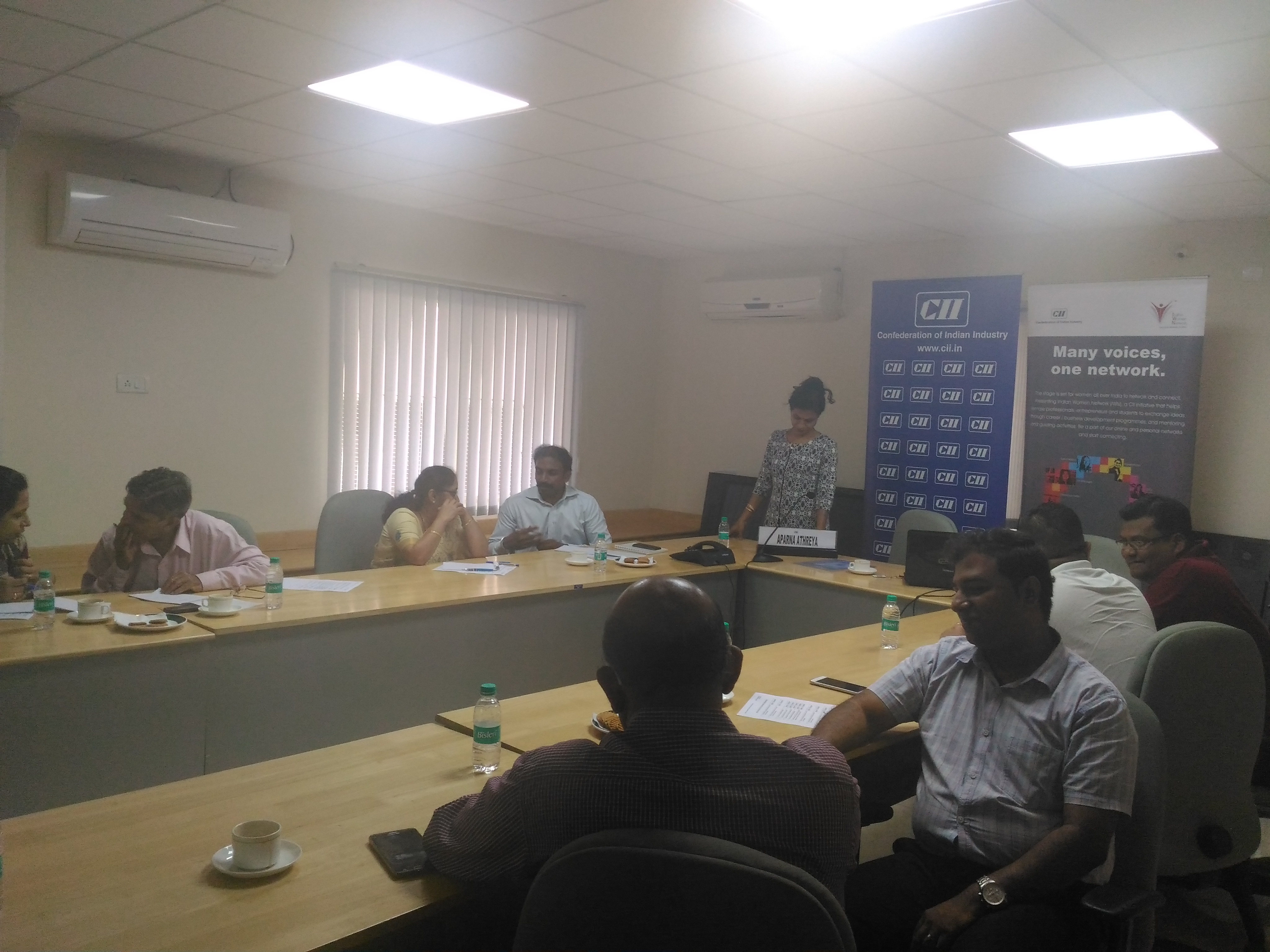 "CII-IWN Interactive Session on ""Mind-Set and the Making of Leaders"""