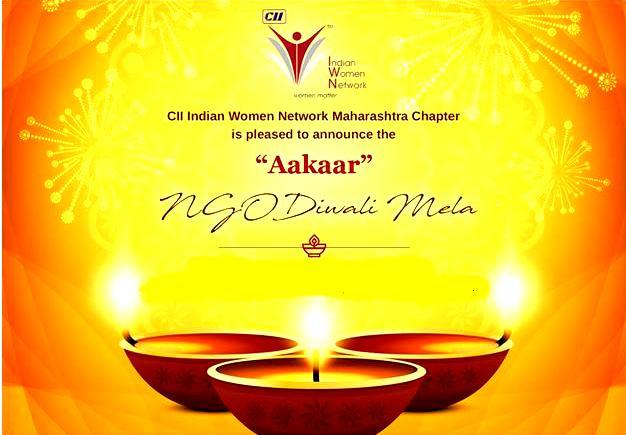 """CII IWN Maharashtra Chapter – """"Aakaar"""" NGO Diwali Mela"""