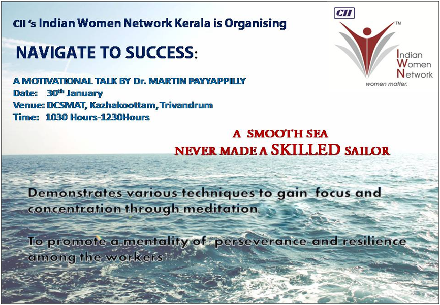 "Navigate To Success "" A Motivational Talk"""