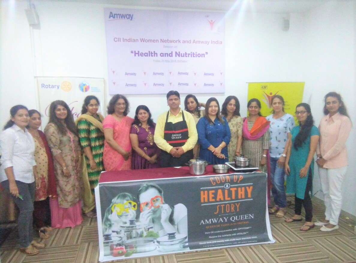 CII IWN WR and Amway India Session on Nutrition and Health - Tasty bhi healthy bhi