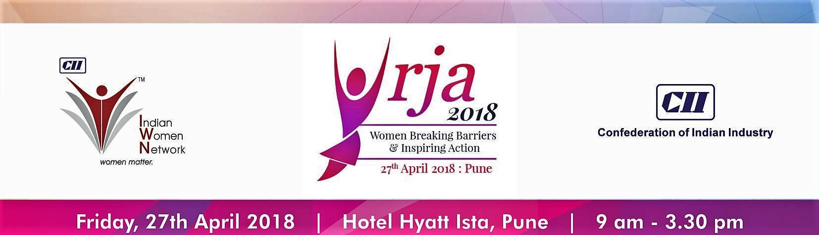 """CII Indian Women Network Pune Chapter - 2nd Edition """"URJA"""""""