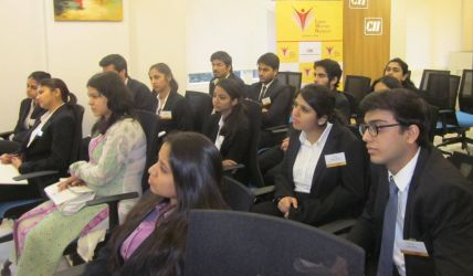 Students at the Interactive Session with Dr Alvin Rohrs