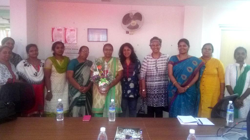 IWN members meet 28 May 2016