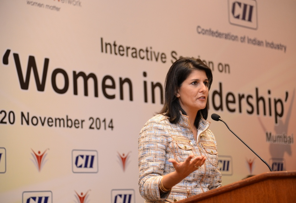 CII IWN Interaction with Ms Nikki Haley, Governor of South Carolina, USA