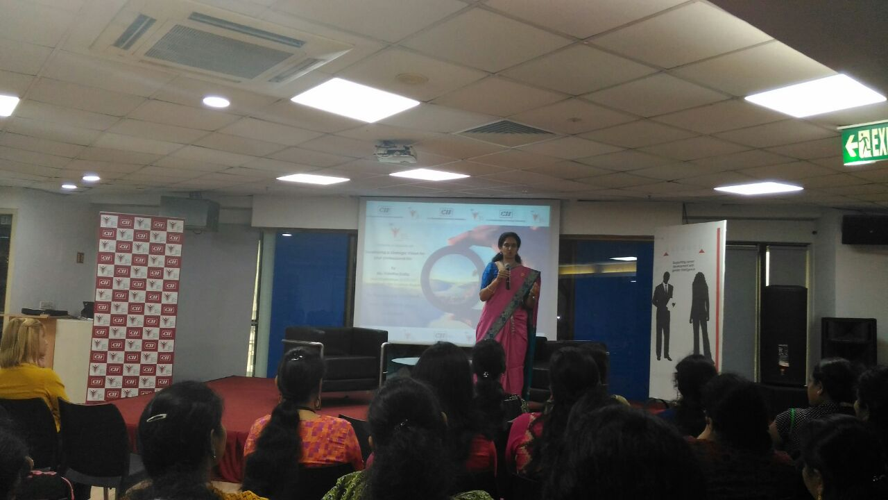 Session on 'Developing a Strategic Vision for your professional life'