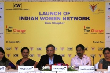 CII IWN Goa Chapter Launch - 'I Am The Change'