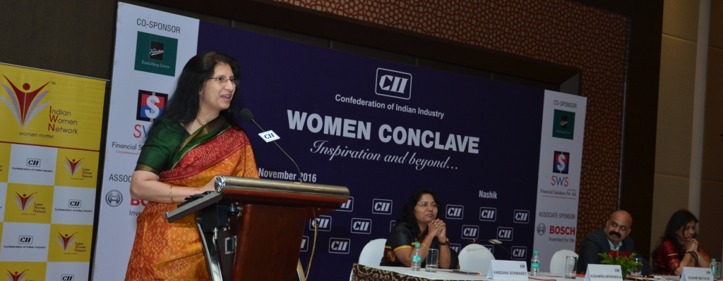 CII North Maharashtra Zone - 'WOMEN CONCLAVE - Inspiration and beyond…'