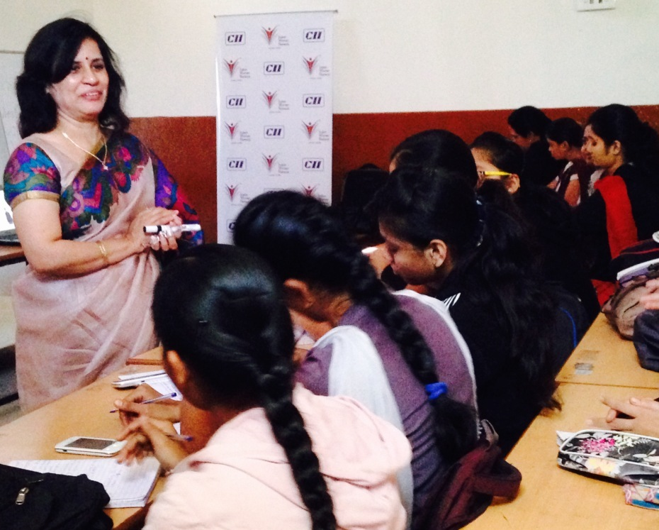 CII IWN Session on 'Personal Grooming: An important aspect for a Successful Career'