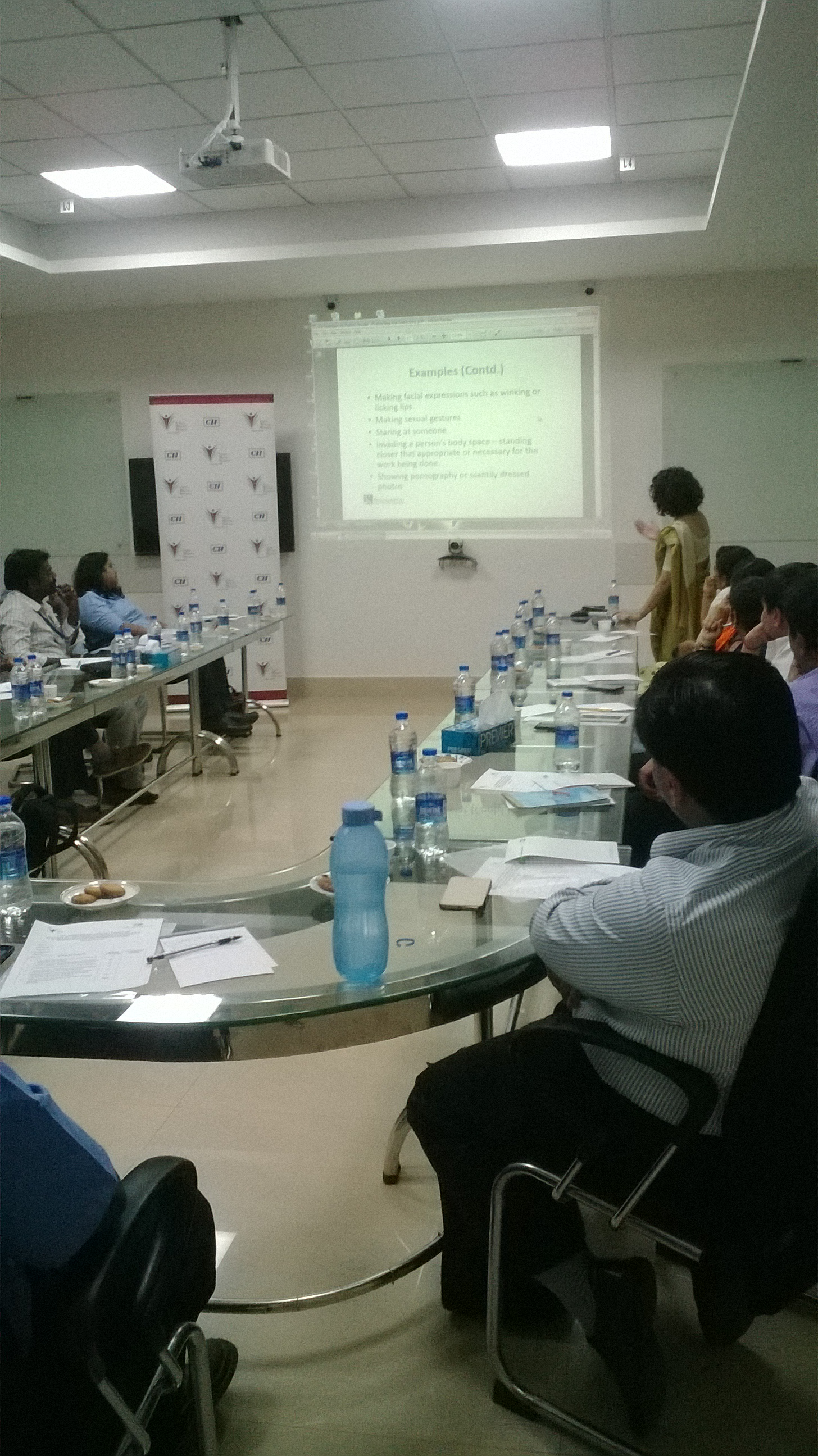 Workshop on POSH Sensitization Session on Men