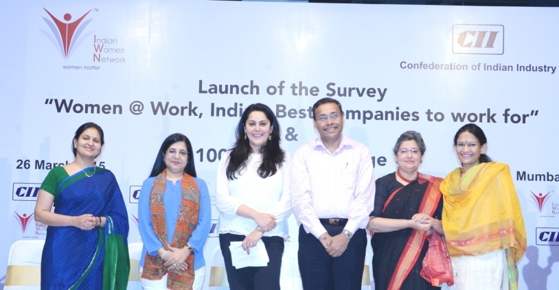 CII IWN Launch of the survey : Women @ Work, India – Best companies to work for & 100 Hours of Change