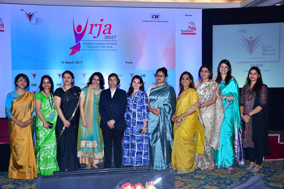 "CII IWN Pune Chapter ""URJA 2017 :Women Leading Change - Walking the talk, 15 March 2017"