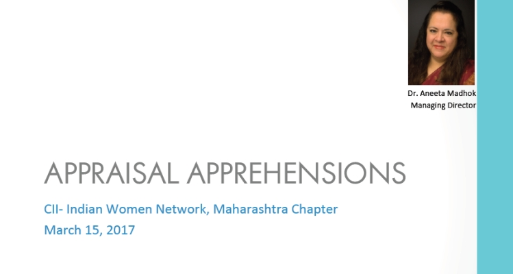 "CII IWN - Maharashtra Chapter Webinar on ""Appraisal Apprehensions"""