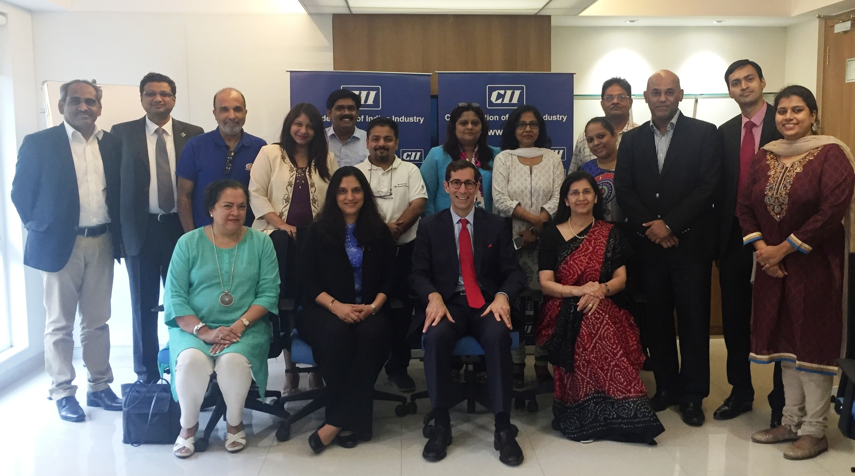 """CII Western Region – """"Cross Cultural Leadership"""" Interaction with Mr Joseph K. Hart, President and CEO of Dale Carnegie Training"""