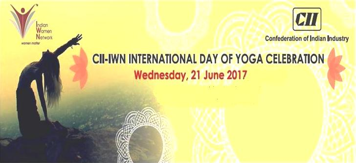 CII Indian Women Network Western Region - International Yoga Day Celebration