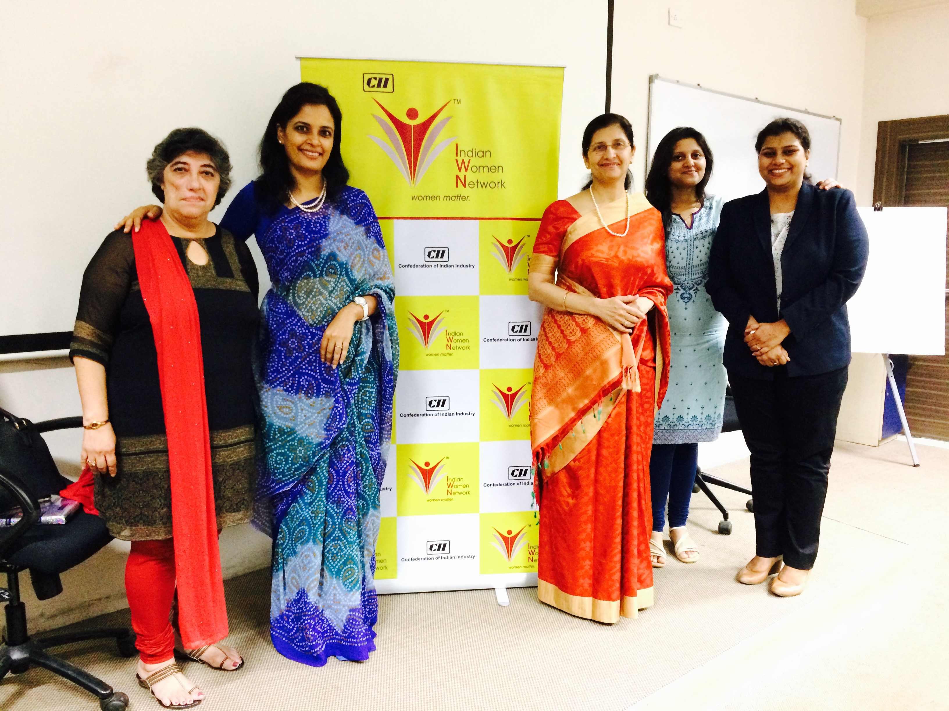 CII WR Indian Women Network 100 Hours of Change Mentoring Session