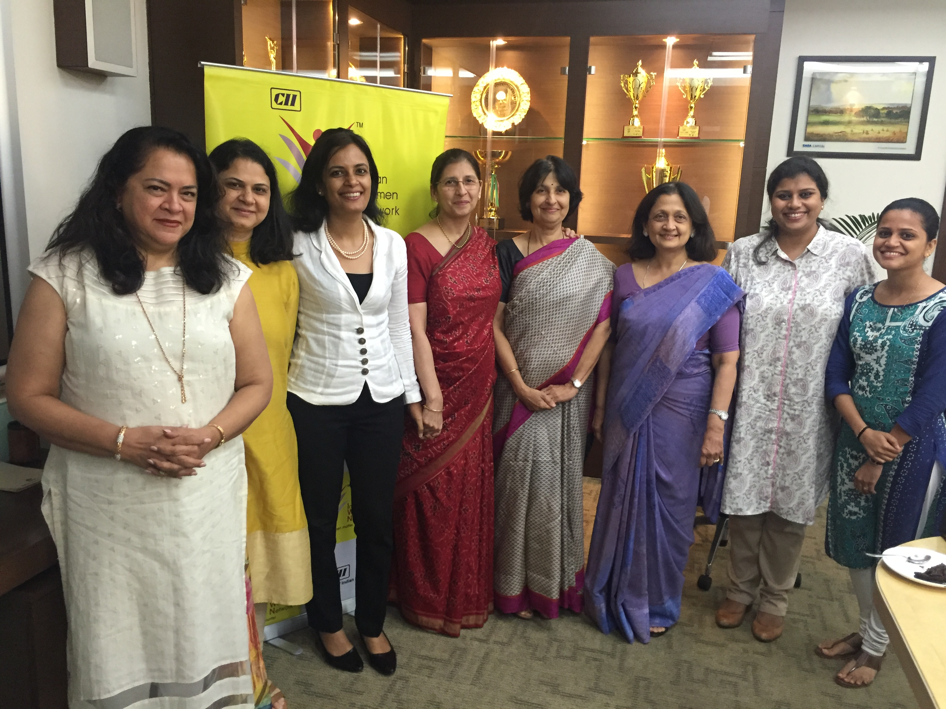 CII Indian Women Network Maharashtra Steering Council Meeting 2017 -18