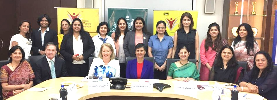 "CII Indian Women Network (IWN) Maharashtra Chapter - ""Creating a more gender-equal world"" Roundtable discussion with Ms. Elizabeth Broderick"