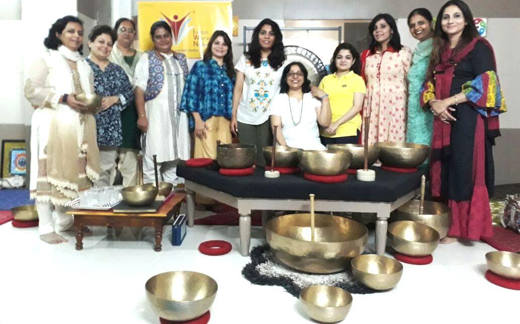 CII Indian Women Network Madhya Pradesh Chapter – Sound Healing Session
