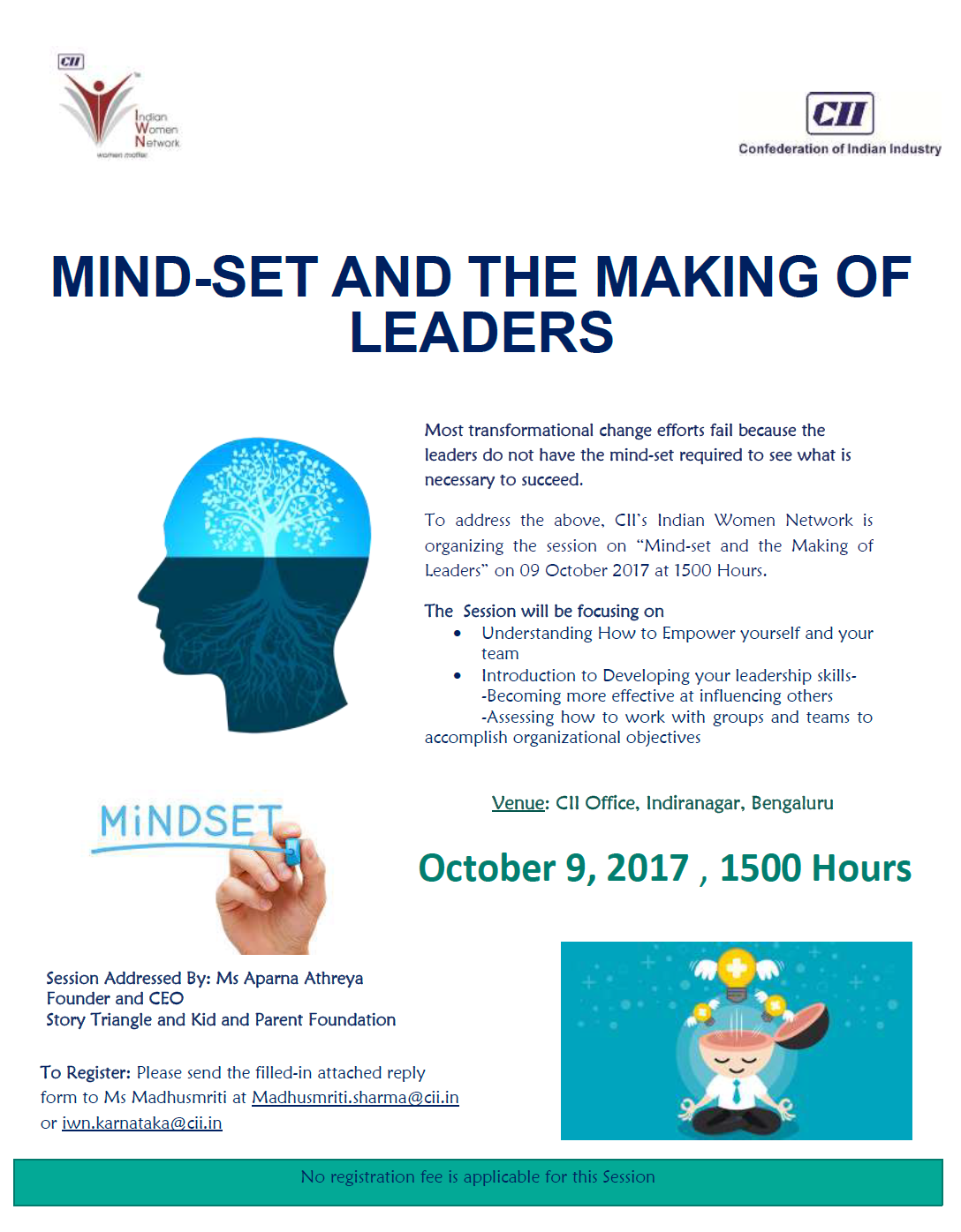 IWN Session on Mindset and the Making of Leaders