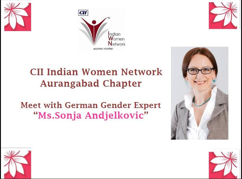 CII IWN Aurangabad Chapter – Hosts Meet with German Expert