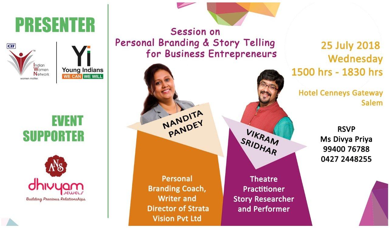 Personal Branding & Storytelling for Business Entrepreneurs