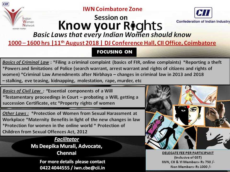 Session on Know Your Rights
