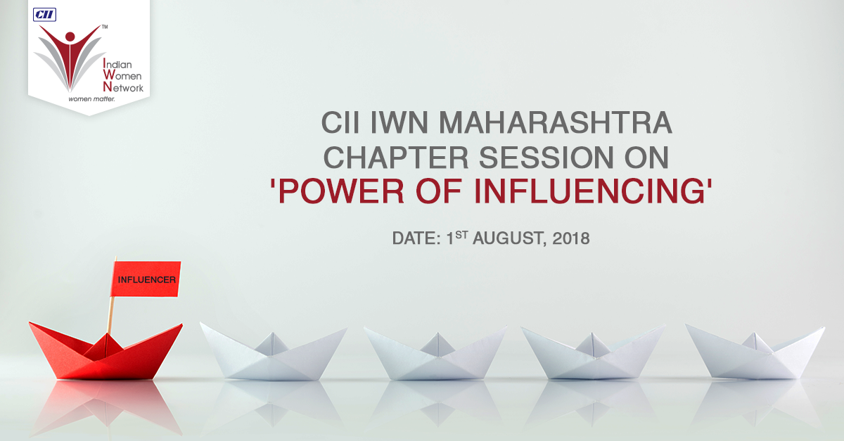 "CII IWN Maharashtra Chapter - Session on ""Influencing Skills"""