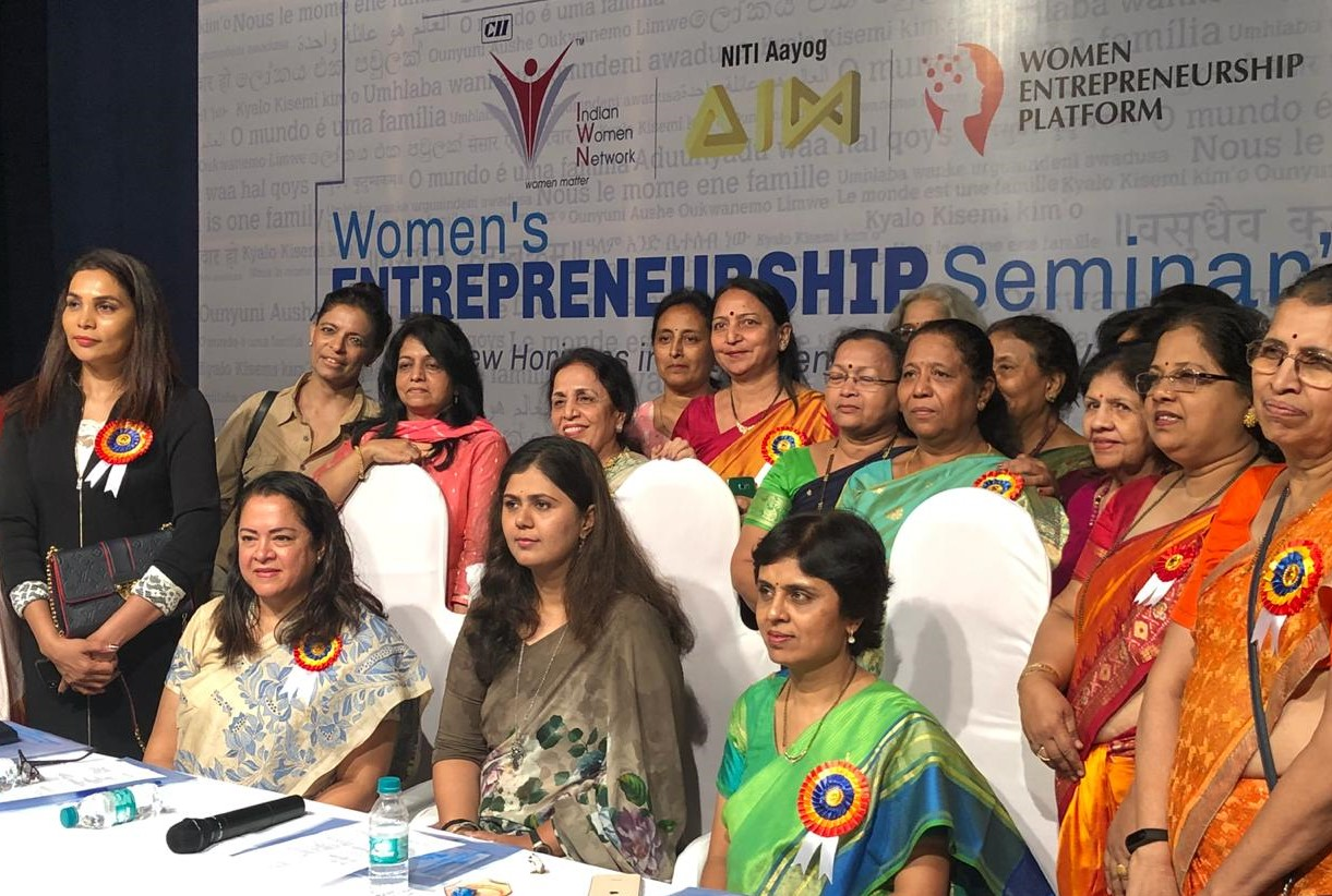 CII IWN Maharashtra Chapter in association with NITI Aayog & Symbiosis Institute - An Entrepreneurship Seminar - No Glass Ceiling Here!