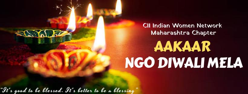 CII Indian Women Network - Aakaar NGO Diwali Mela
