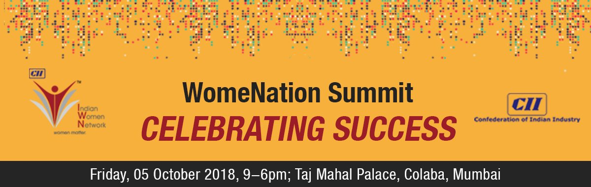 3rd Edition of WomeNation Summit : Celebrating Success