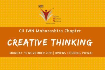 CII IWN Maharashtra Chapter - Session on Creative Thinking