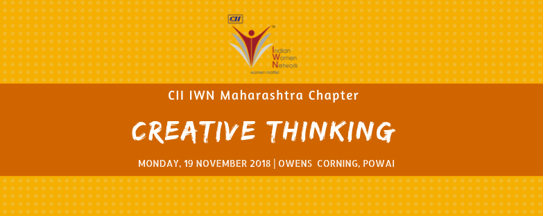 CII IWN Maharashtra Chapter - Session on Creative Thinking
