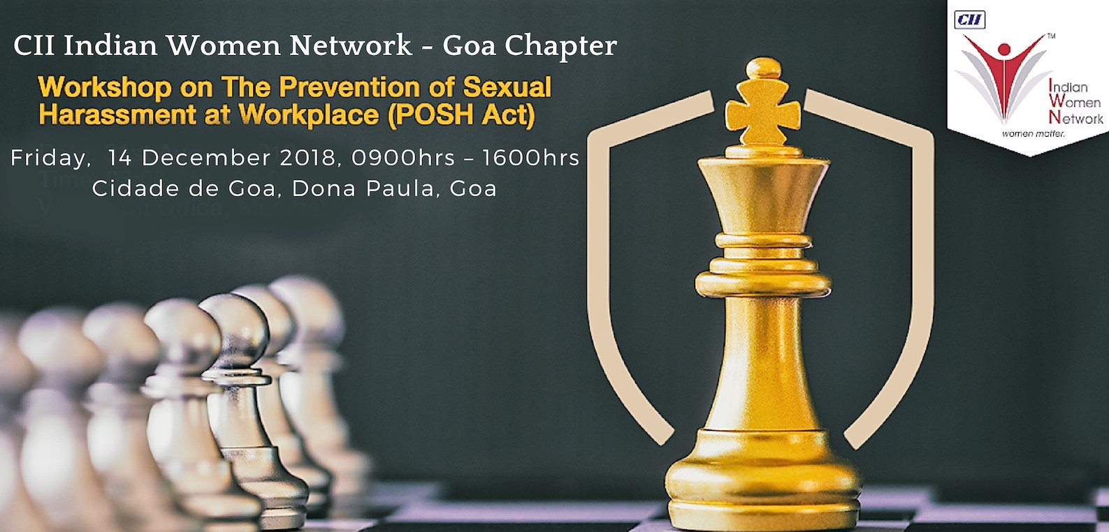 CII IWN Goa Chapter – Workshop on Prevention of Sexual Harassment at Workplace